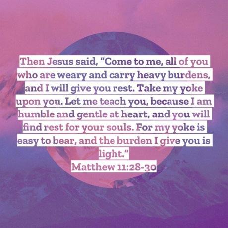 Matthew 11-28-30